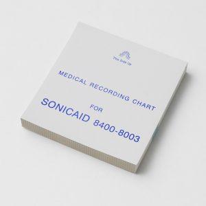 Registreringspapir til Sonic Meridian 800 Sonicaid Te 300