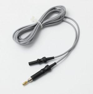 Kabel, monopolar, til Erbe, Male 5mm/Female, 4mm, længde 3m