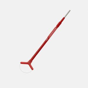 Loop elektrode, rød, 20x10mm
