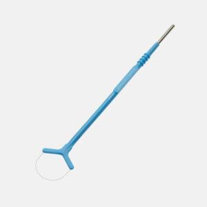 Loop elektrode, blå, 20x15mm